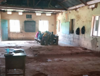 Constituency project: Despite N5 million renovation allocation, children learn sitting on floor in Imo